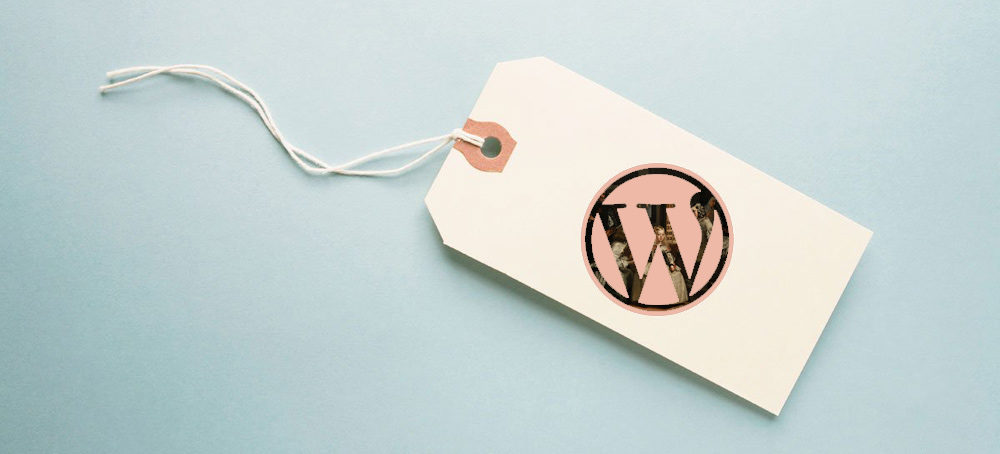 Categoria etiqueta wordpress